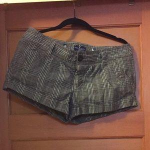 Plaid American Eagle shorts size 8